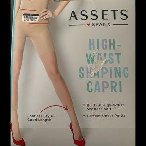 Assets Spanx High Waist Shaping Carpi TAN Size 2